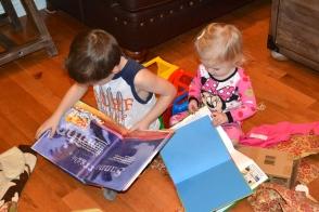 More reading through their new books.