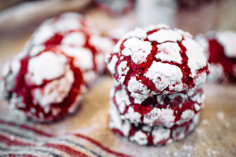 Печенье красный бархат рецепт